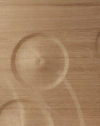 Wooden wall art dropplets