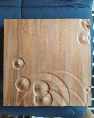 Wooden wall art rain