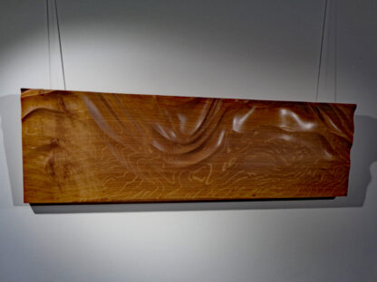 Wooden wall art tide