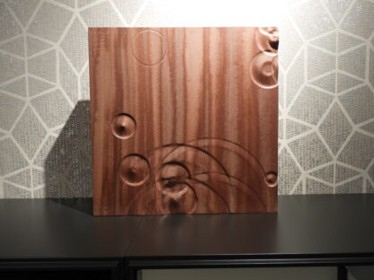 Wooden wall art rain