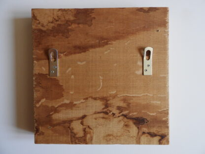 Wooden wall art dropplets